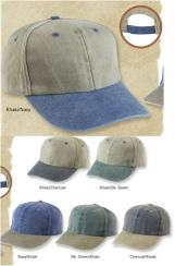 Two Tone Stonewashed Low Profile Cap