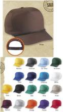 5 Panel Cotton Twill Golf Cap